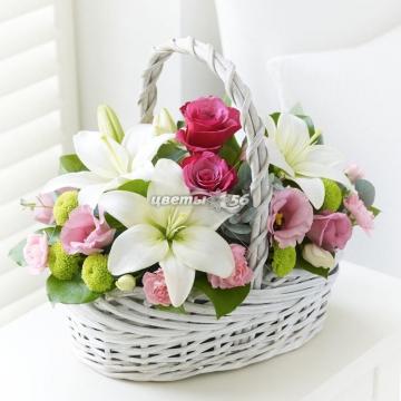 заказать лилии в Оренбурге flower56.ru